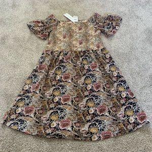 O'NIELL SMOCKED DRESS NWT